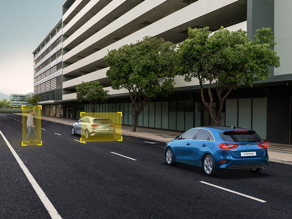 Kia Ceed GT Forward Collision-Avoidance Assist